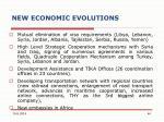 new economic evolutions