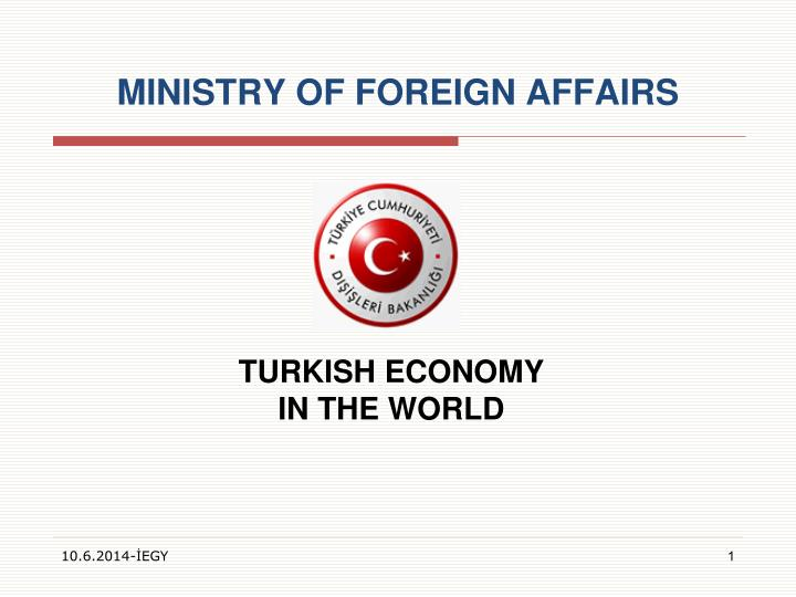 turkish economy in the world n.