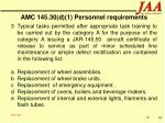 amc 145 30 d 1 personnel requirements70