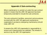 appendix 6 sub contracting194