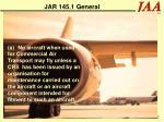 jar 145 1 general