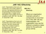 jar 145 3 effectivity12