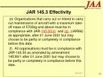 jar 145 3 effectivity15
