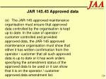 jar 145 45 approved data126