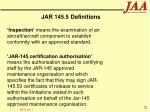 jar 145 5 definitions20