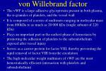 von willebrand factor