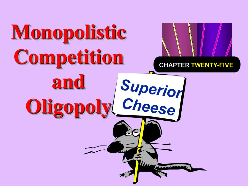 monopolistic competition and oligopoly l.