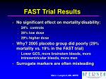 fast trial results30