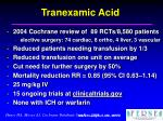 tranexamic acid35