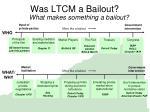 was ltcm a bailout17