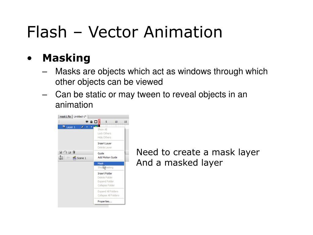 Flash – Vector Animation