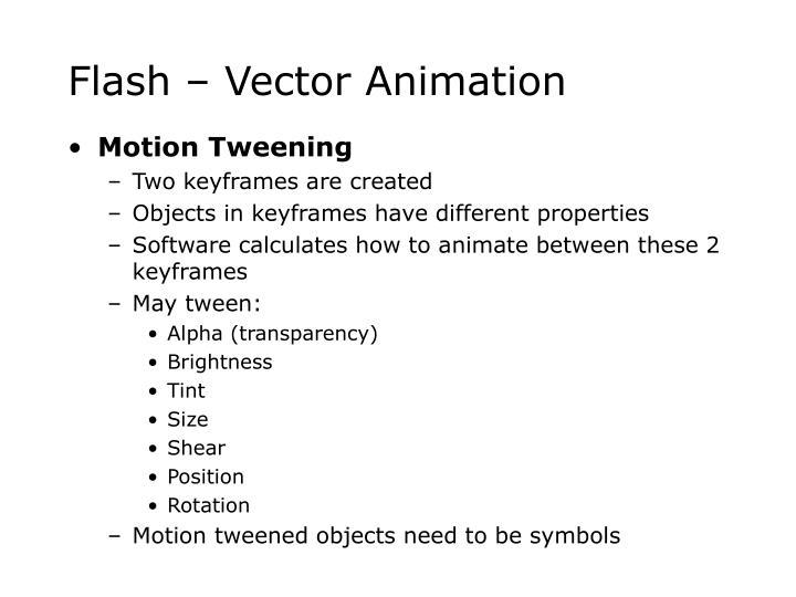 Flash vector animation3
