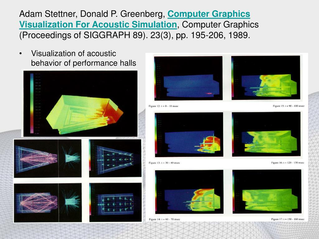 Adam Stettner, Donald P. Greenberg,