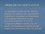 principe du ventilateur