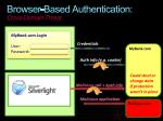 browser based authentication cross domain threat