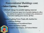 nonresidential buildings cont