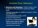 aviation toxic substance41