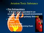 aviation toxic substance44