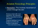 aviation toxicology principles25