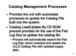 catalog management processes