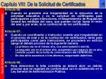 cap tulo viii de la solicitud de certificados32