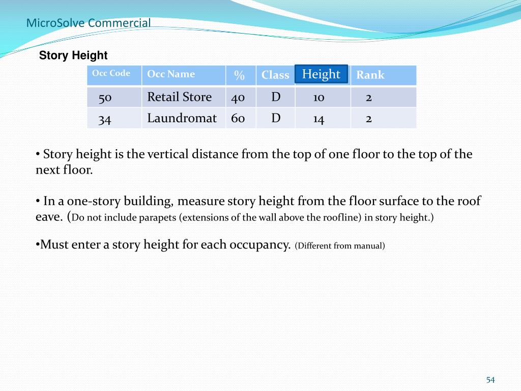 Story Height
