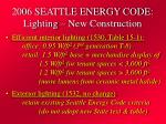 2006 seattle energy code lighting new construction20