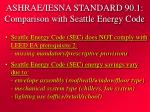 ashrae iesna standard 90 1 comparison with seattle energy code27