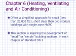 chapter 6 heating ventilating and air conditioning