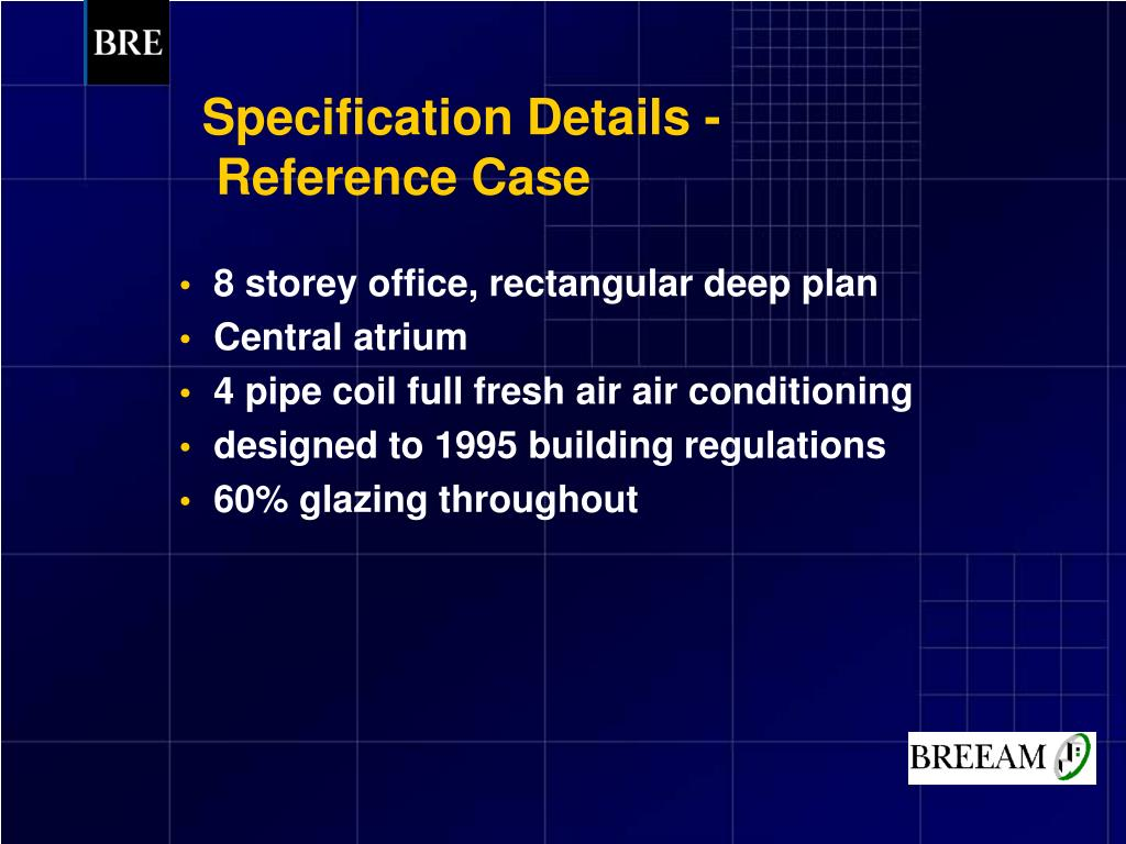 Specification Details -