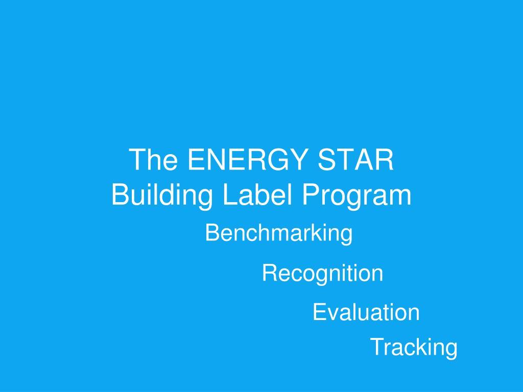 The ENERGY STAR