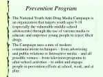 prevention program29