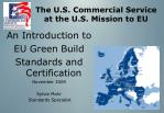 the u s commercial service at the u s mission to eu