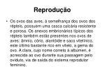 reprodu o