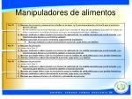 manipuladores de alimentos13