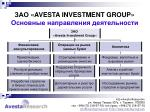 avesta investment group