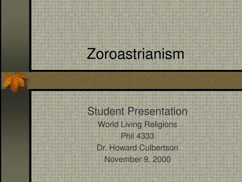zoroastrianism l.