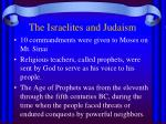 the israelites and judaism6