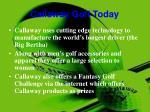callaway golf today