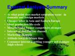 external analysis summary
