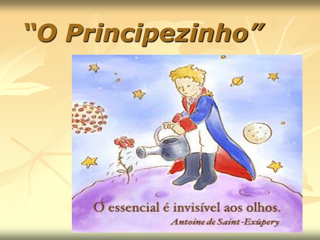 o principezinho l.