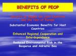 benefits of peop