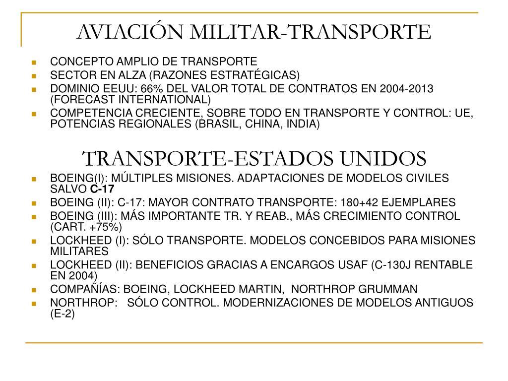 aviaci n militar transporte l.