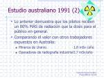 estudio australiano 1991 2