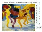 nolde dance around the golden calf 1910