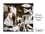 picasso guernica detail