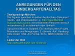 anregungen f r den kindergartenalltag25