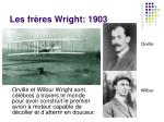 les fr res wright 1903