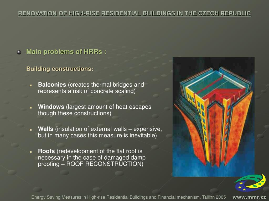 Ppt Renovation Of High Rise Residential Buildings In The