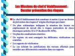 les missions du chef d tablissement dossier pr vention des risques